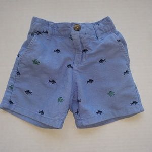 Janie and Jack  Lakeshore Getaway Sharks  Shorts